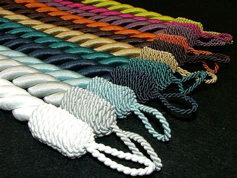 Reef Thick Chunky Rope Curtain Tie Backs