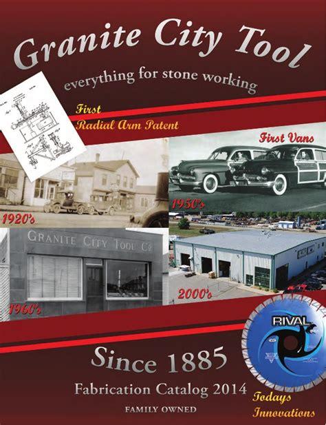 granite city tool fabrication catalog 2014