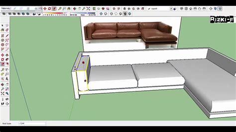 model  sofa  sketchup desain rumah