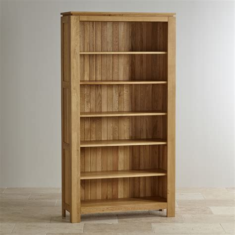 Oak Bookcase galway solid oak bookcase living room furniture