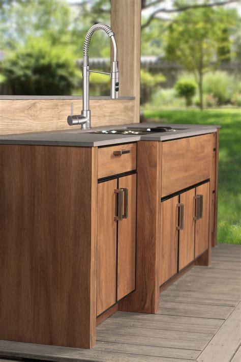 weatherproof outdoor kitchen cabinets naturekast weatherproof cabinets kitchens total living 7025