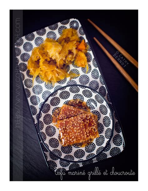 cuisiner choucroute crue choucroute végétarienne au potimarron et tofu mariné