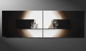 Glasbilder Xxl Wohnzimmer : das handgemalte bild light rain 240x80cm wandbilder xxl ~ Whattoseeinmadrid.com Haus und Dekorationen