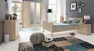 Günstiges Schlafzimmer Komplett : charmantes komplett schlafzimmer in eiche s gerau dekor sinello ~ Indierocktalk.com Haus und Dekorationen