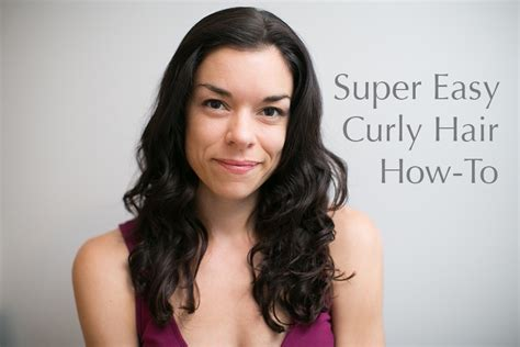 how to style wavy hair naturally curly hair how to easy styling for naturally wavy hair 1189