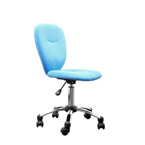 chaise de bureau bleu miliboo chaise de bureau enfant bleue lizzy achat