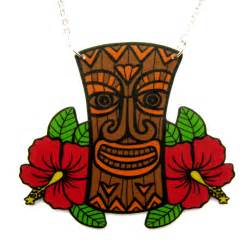 Hawaiian Tiki Clip Art Free