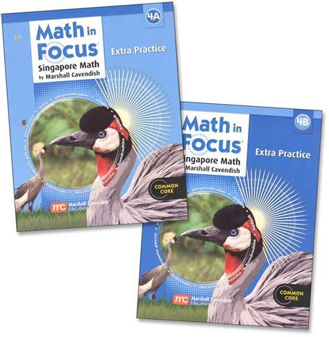 Math In Focus Gr 4 Extra Practice A & B Set (mf4eps) Details  Rainbow Resource Center, Inc