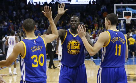 Warriors Forming A Different Kind Of Big Three Warriors