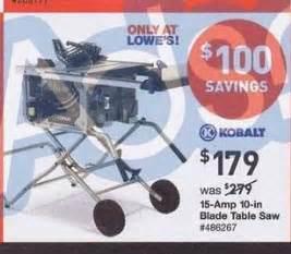 kobalt 10 in table saw blackfriday fm