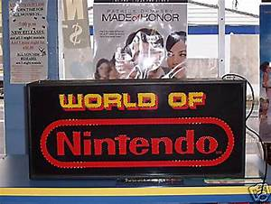 Image Gallery Nintendo Sign