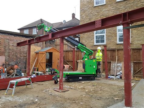 Construction - Steel Beam Installation with the Hooka Mini ...
