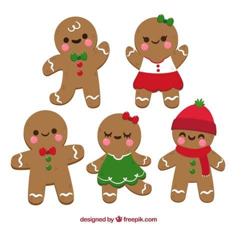 gingerbread man vectors   psd files