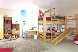 Kinderzimmer Mit Hochbett Und Rutsche : hochbett mit rutsche ein traum f r kinder ~ Frokenaadalensverden.com Haus und Dekorationen