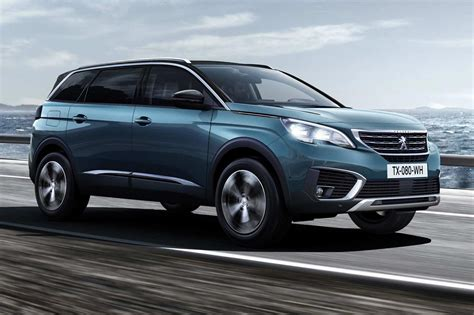 peugeot cars same name very different face new peugeot 5008 unveiled