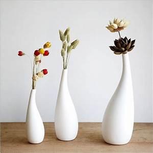 S, Fashion, Vases, Porcelain, Pot, 64, 64, 190mm, Home, Decor, White, Vases, Designed, By, Asa, Ceramics