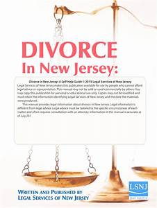 Divorce In Nj A Self Help Guide