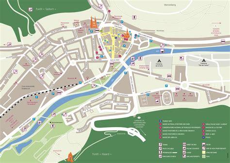Mairie Ville De Plan De Diekirch Lu Plan De La Ville Plan De La Ville