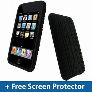 Black Tyre Skin Case for iPod Touch 2nd 3rd Gen 2G 3G ...