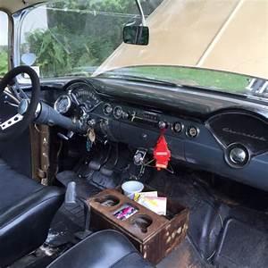 1956 Chevy 150 2 Door Wagon Old School Hotrod Big Block 4