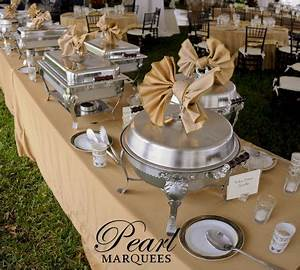 Good idea for chafing dish lids Celebrations