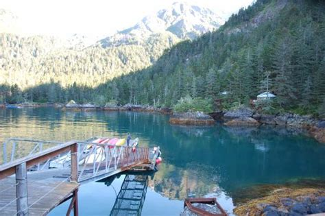 orca island cabins fishing from dock picture of orca island cabins seward