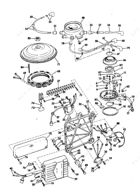 Johnson Esle Distributor Group Parts