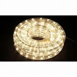 Tube Lumineux Exterieur : guirlande tube lumineux leds 12 m achat vente ~ Premium-room.com Idées de Décoration