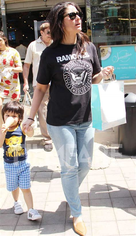Taimur ali khan was spotted with his mom kareena kapoor khan today. Saif Ali Khan, Kareena Kapoor Khan and Taimur Ali Khan ...