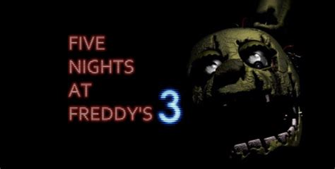 Review Five Nights At Freddy's 3  Games In Asia Indonesia