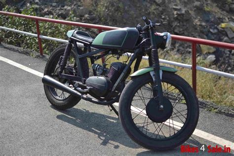 Modified Bikes Images by Custom Modified Rajdoot 175 Cc Motorcycle Motorcycles