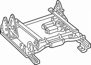 Cadillac Escalade Ext Seat Track  Passenger  Bench  Side