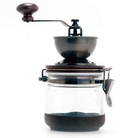 """You can see from the image that it also looks great and should be affordable for most people. Hario Ceramic Burr """"Canister"""" Hand Coffee Grinder"""