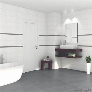 Badezimmer Fliesen Grau Weiß : badezimmer grau weiss schwarz badezimmer fliesen ~ Watch28wear.com Haus und Dekorationen