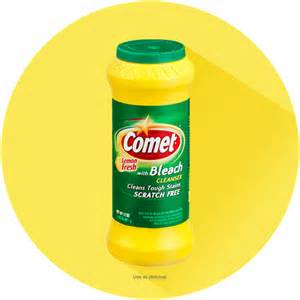 comet 174 lemon powder cleaner with bleach