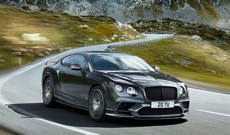 bentley sports 2018 bentley continental supersports confirmed
