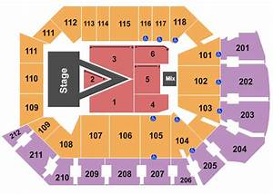 Addition Financial Arena Seating Chart
