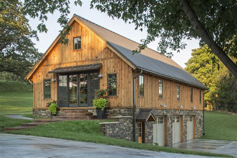 live in garage plans pictures barn home features open living space with a 3 car garage below