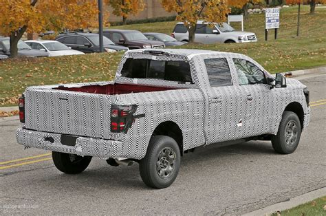 nissan cummins 2016 nissan titan spied testing isv cummins turbo diesel