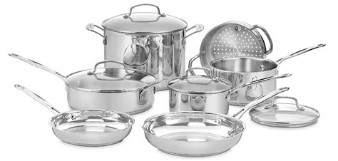 cuisinart pc stainless steel cookware set