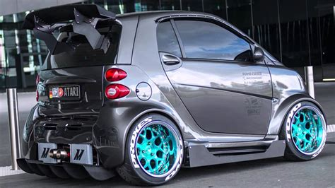 Smart fortwo tuning - YouTube