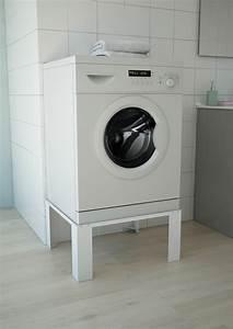 Erhöhung Für Waschmaschine : waschmaschinenerh hung waschmaschinen untergestell sockel erh hung wei respekta ebay ~ Yasmunasinghe.com Haus und Dekorationen