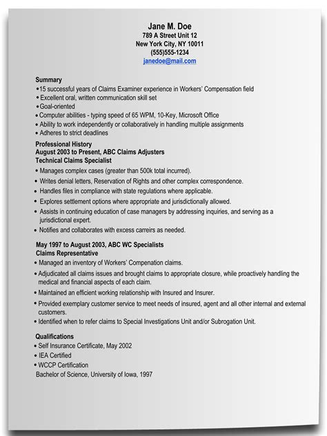 Resume Advice by Writing A Resume Resume Cover Letter