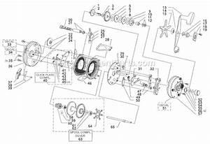 Abu Garcia 6600 Parts List And Diagram
