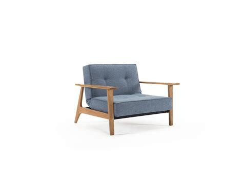 Poltrona Design Scandinavo In Tessuto O Velluto Splitback Frej