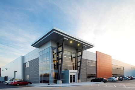 metal panels clad food processing plant metal construction news