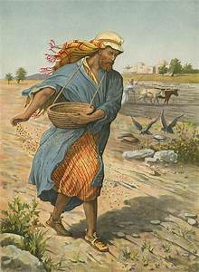 the, sower, sowing, the, seed, painting, by, english, school