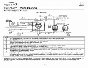 Murphy Powerview 101 Wiring Diagram