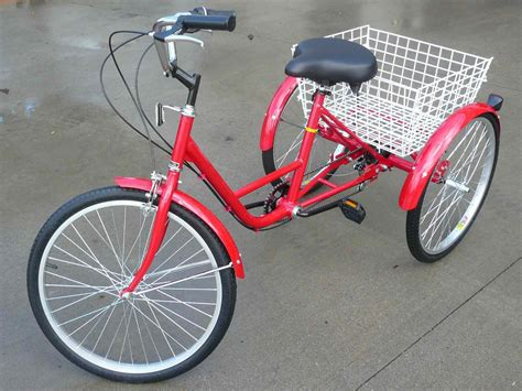 New 3 Wheel Adult Tricycle 24