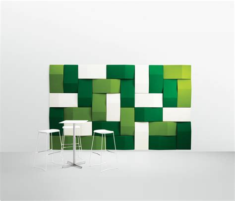 TRILINE ACOUSTICAL WALL PANEL - Wood panels from Abstracta